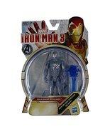 Hasbro Iron Man 3 Series 1 Action Figure Cold Snap Iron Man - $10.77