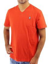 Psycho Bunny By Robert Godley Men's Premium Pima Cotton V-Neck T-Shirt Shirt image 14