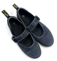 DR MARTENS Carnaby Mary Janes Shoes Flats Air Wair 39 EU US 8 M Canvas Buckle - $34.95