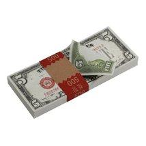 PROP MOVIE MONEY - Series 1920s Vintage $5 Full Print Prop Money Stack - $14.00