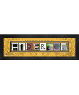 Personalized Anderson University Campus Letter Art Framed Print - $39.95
