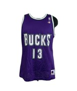 Vintage Milwaukee Bucks Jersey Glenn Robinson Champion NBA Basketball Me... - $49.99