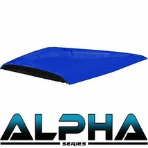 Golf Cart Hood Scoop Blue for Alpha Body Kit Street or Off Road Styles - $68.60