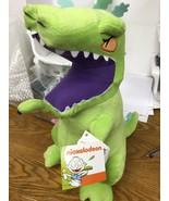 """Nickelodeon Nick 90's/Splat Reptar Plush Pillow Buddy NEW 16"""" - $19.95"""