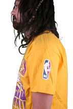 Mitchell & Ness Basketball NBA Los Angeles Lakers Backboard Brecher T-Shirt image 3