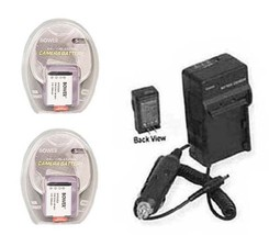 2 Batteries +Charger For Sony DSC-RX100 Ii DSCRX100M2 RX100M2B RX100MII DSC-HX50 - $35.92
