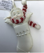 Snowbabies Christmas Stocking ornament blank to personalize - $5.50