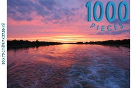 Puzzles of Utopia 1,000 Pieces Sunset Jigsaw Puzzle Direct from Manufact... - $16.87