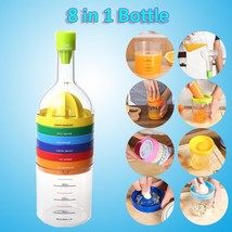 Kitchen Tools 8 In 1 Bottle Gadget Multi Function Shape Grater Squeezer ... - $17.99