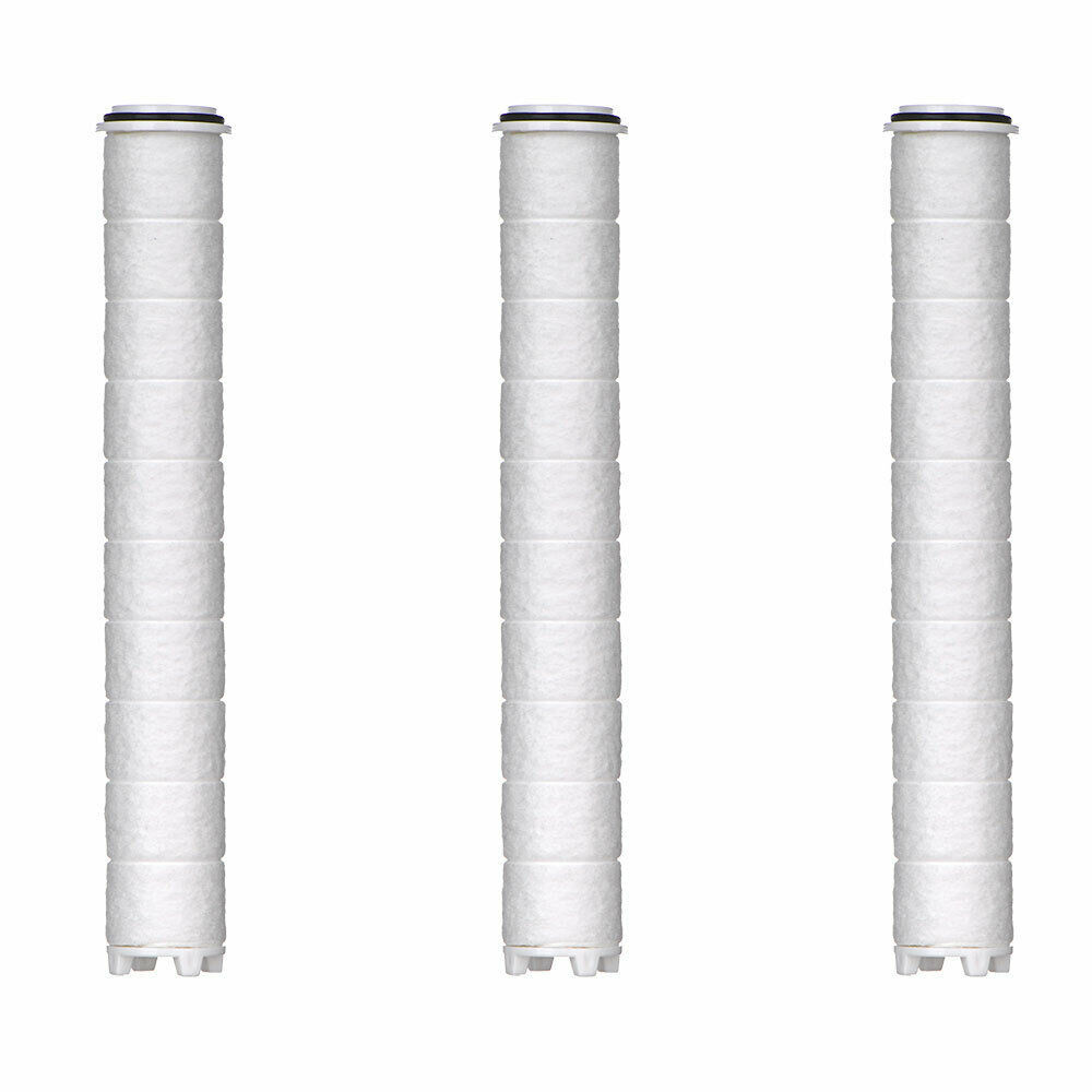 Moolmang Pure Filter Cartridge 3 PC in 1 Pack for Pure Shower Head