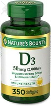 Vitamin D by Nature's Bounty for immune support. Vitamin D provides immune suppo - $15.88