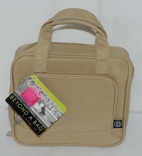 GANZ Brand Beyond a Bag BB227 Seasme Color Toiletry Notebook Hanging Organizer