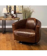 Awesome Adler Leather Retro Chair, Home Office Furniture Decor,31.5'' X ... - $1,183.05