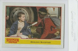 Stranger Things Apology Accepted 85 Topps Netflix 2018 Season One tradin... - $2.99