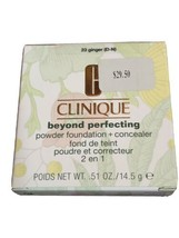 Clinique Beyond Perfecting Powder Foundation & Concealer Ginger, 23, Full Size - $14.80