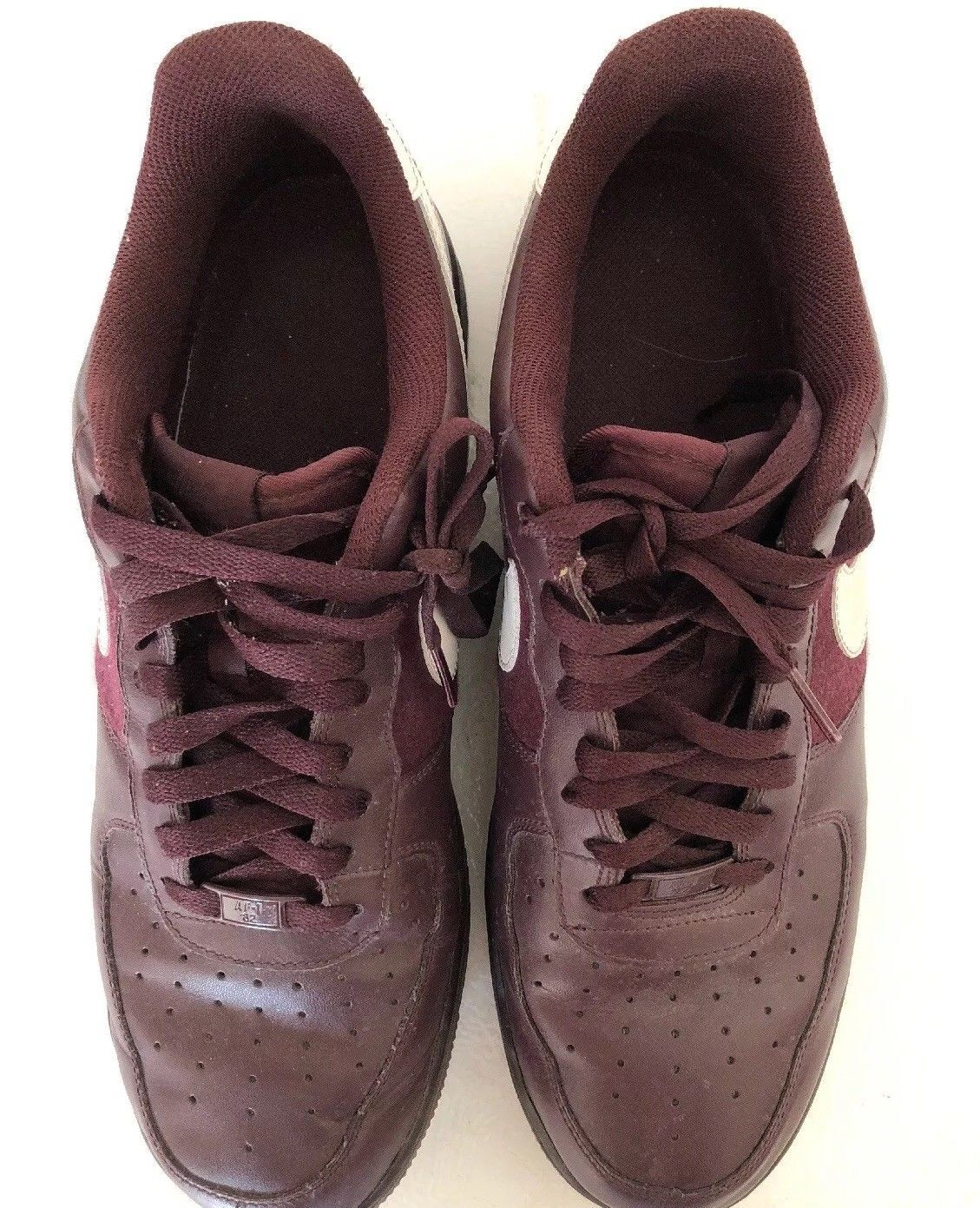 best website 67832 bddf7 Nike Air Force 1 Low Maroon Size 13 and 20 similar items