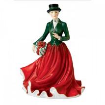 Royal Doulton 2015 Figure of Year Christmas Morning Figurine HN5731 Hand... - $186.12