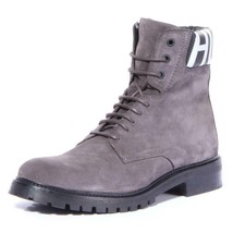 Hugo Boss Men Explore_Halb_wxsd Boots Shoes Dark Grey, Size 9 - $327.68