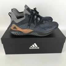 Adidas Alphabounce Beyond Herren Schuhe Carbon/Grau CG4762 Größe 9 - $97.72