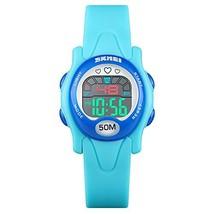 Kids Digital Sport Watch,Boys Girls Waterproof Outdoor LED Wrist Watches with Al