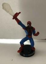 Lot Of 2 Marvel Attacktix Figures Spider-Man & Venom Black Base Hasbro 2006 - $9.39