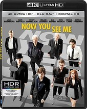 Now You See Me  (4K Ultra HD+Blu-ray+Digital)