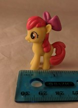"My Little Pony G4 FiM Apple Bloom 1.5"" Toy Mini Figure Plastic Hasbro - $6.00"