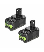 Epowon 2-Pack 18V 5000mAh Replacement ONE+ Lithium Battery for Ryobi 18-... - $69.91