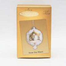 Hallmark Keepsake 2005 Snow Day Magic Christmas Ornament - $9.88