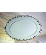 """Royal Bayreuth Antique Circa 1912 Pink Floral Swags Oval Platter 11"""" - $18.89"""