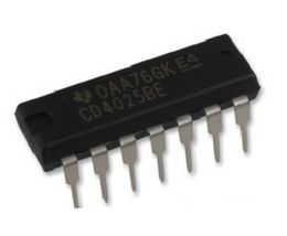 Texas Instruments CD4025BE CD4025 CMOS Triple 3-Input NOR Gate (Pack of 10) - $12.98