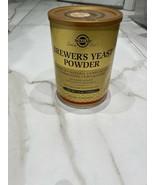 Solgar - Brewer's Yeast Powder - 14 oz. Exp 11/21 Opened & Unused - $8.50