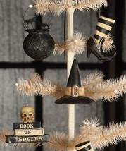 """Bethany Lowe Designs Halloween Set of 4 """"Witches Brew Ornaments"""" TD4037 - $69.99"""