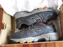 BNIB New Balance MTE412G2 Trail Running Shoes, Men, size 8 4E(XWide), Grey - $64.35