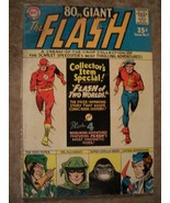 1965 SILVER AGE 80pg GIANT THE FLASH COMIC #9 AWESOME STORIES Hi$COMIC - $59.40