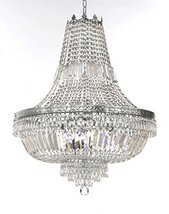 French Empire Crystal Chandelier Lighting -Great for The Dining Room, Foyer, Ent - $391.19