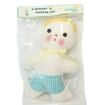 Commonwealth of Pennsylvania Plakie Terry Cloth Doll Plush NIP Vintage - $36.77