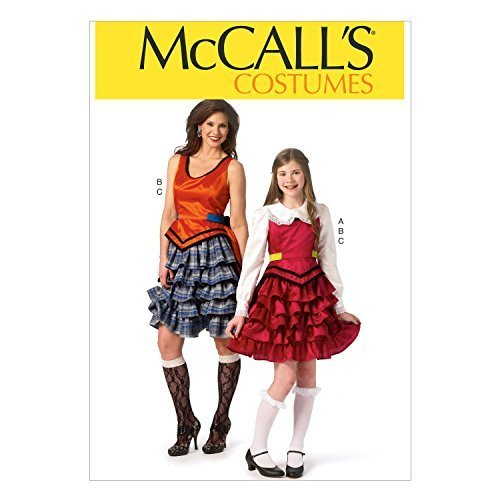McCall Pattern Company M6999 Misses'/Girls' Costumes, Size MIS (Small-Medium-Lar - $11.27