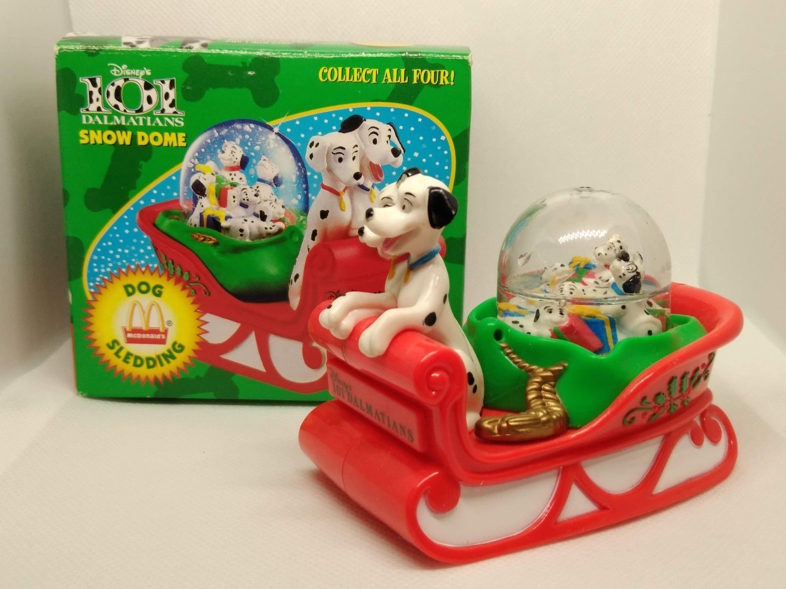 Mcdonalds Christmas Ornament.Vintage Lot Of 4 101 Dalmatians Disney And Similar Items