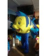 Flounder Fish Mascot Costume Adult Costume For Sale - $299.00