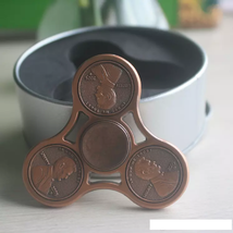 US Cent Brass Copper Fidget Spinner - One Spinner with Random Color and Design