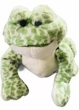 GANZ Webkinz Spotted Frog Green Soft Plush Stuffed Animal Frog HM142 B35 - $19.79