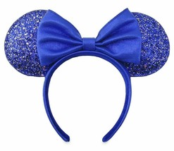 In Hand Disney Make a wish Wishes Come True Blue Collection Minnie Ears - $29.69