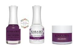 Kiara Sky Trio Set Gel 0.5 oz & Lacquer 0.5 oz & Dip 1 oz 544 Sweet Surr... - $26.99
