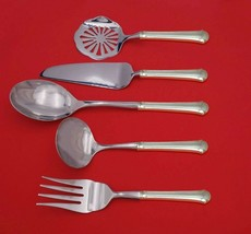 Chippendale by Towle Sterling Silver Thanksgiving Serving Set 5-Piece Custom  - $359.00