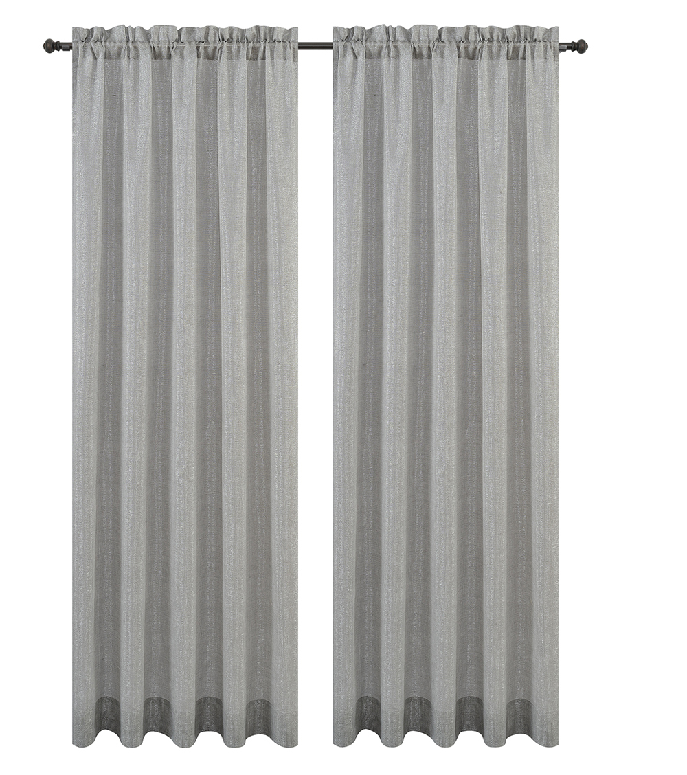 Urbanest Cosmo Set of 2 Sheer Curtain Panels image 8