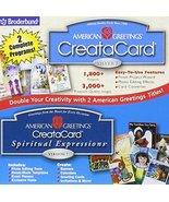American Greetings CreataCard Silver 7 & Spirtual Expressions, Version 7 - $16.95
