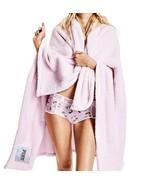 "VICTORIA'S SECRET PINK COZY BLANKET SOFT PLUSH SLEEP THROW 50""x 60"" NEW - $35.52"
