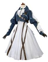 Violet Evergarden Cosplay Costume Womens Anime Uniforms Suit Dark Blue W... - $135.99+