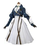 Violet Evergarden Cosplay Costume Womens Anime Uniforms Suit Dark Blue White - $135.99 - $145.99